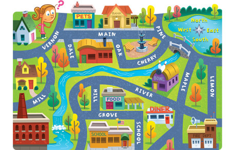Town Map.