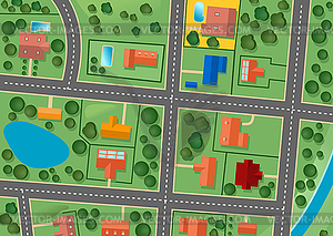 Similiar Big City Neighborhood Clip Art Keywords.