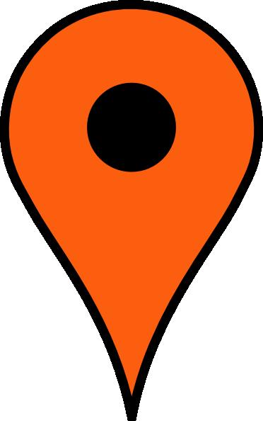 Orange Pin Clip Art at Clker.com.