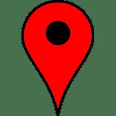 Red Map Pin transparent PNG.