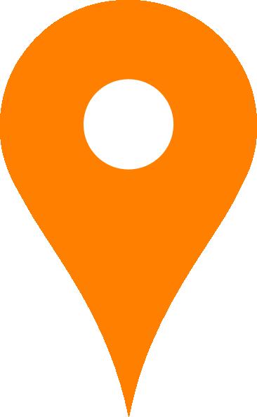 Orange Map Pin Clip Art at Clker.com.
