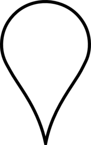 Map Pin White Clip Art at Clker.com.