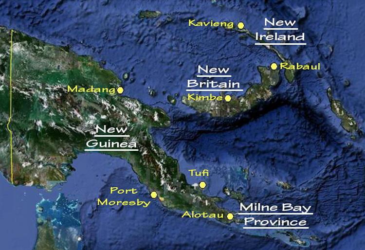 Papua New Guinea Scuba Diving.