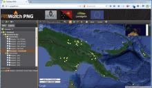 Papua New Guinea Forest Monitoring Portal.