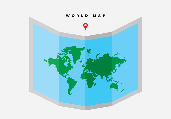 Free World Map Vector Collection: 55+ Different Designs.