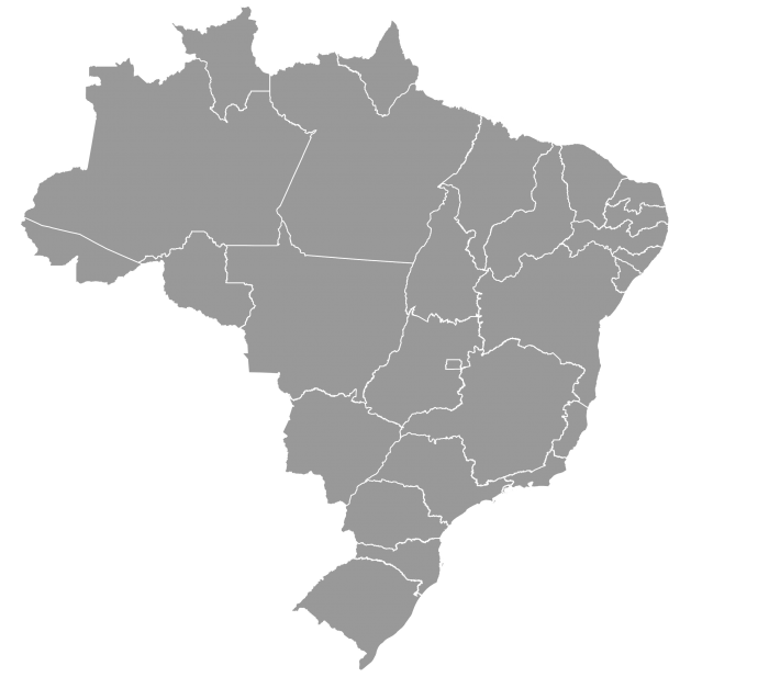 Brasil Mapa Png Vector, Clipart, PSD.