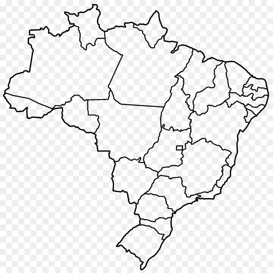 Brazil Map clipart.
