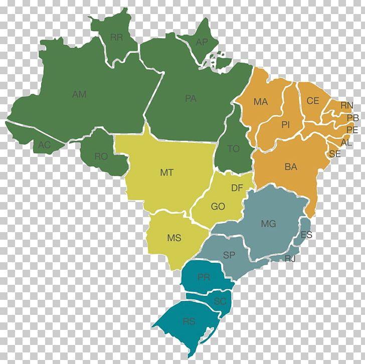Regions Of Brazil World Map Mapa Polityczna Federative Unit.