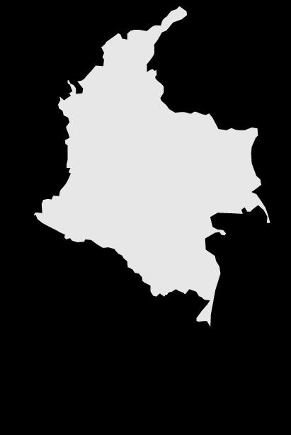 Mapa De Colombia Clipart Clipground