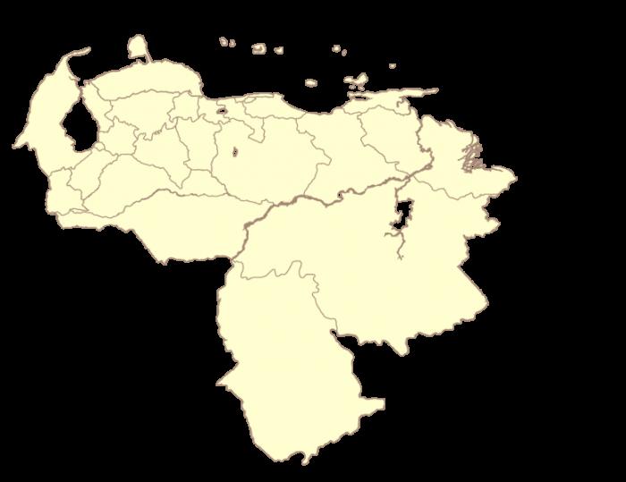 Mapa De Venezuela Png Vector, Clipart, PSD.