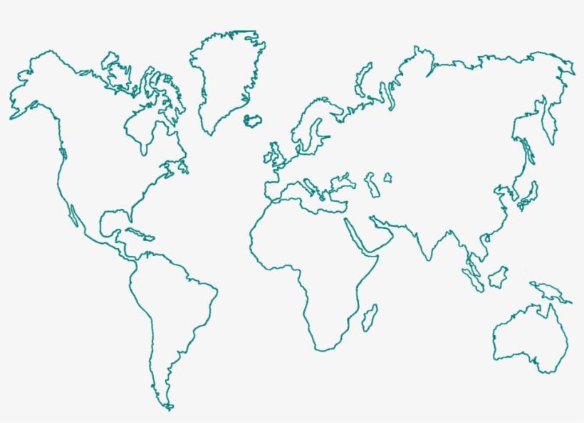 Mapa Mundi Png Transparente.