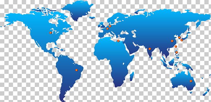 Mapamundi del mundo: mapas gráficos de red portátiles.