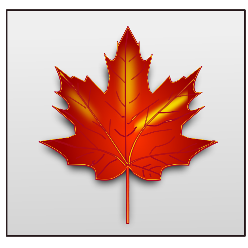 Free Clipart: Maple leaf.