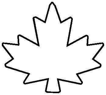 Free Maple Leaf Outline, Download Free Clip Art, Free Clip.