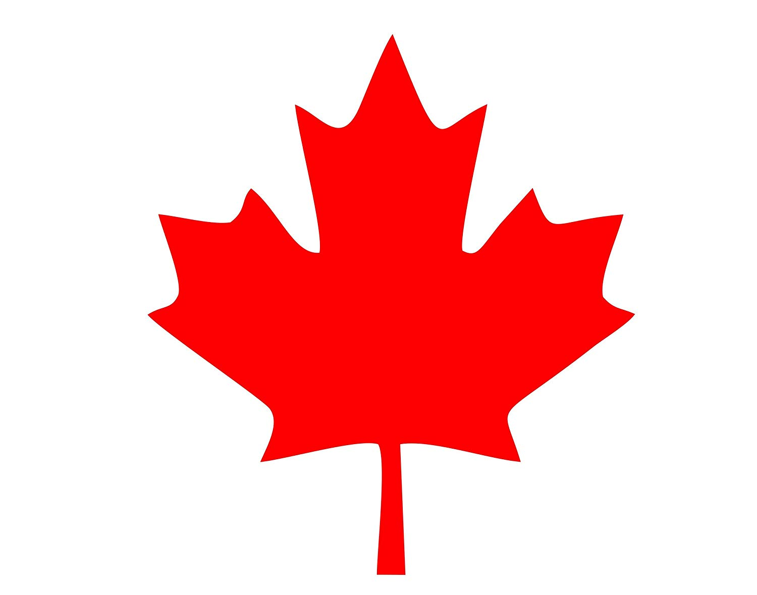 Canadian Maple Leaf.