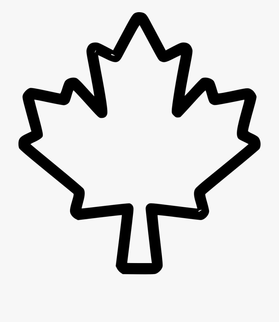Maple Tree Clip Art Black And White.