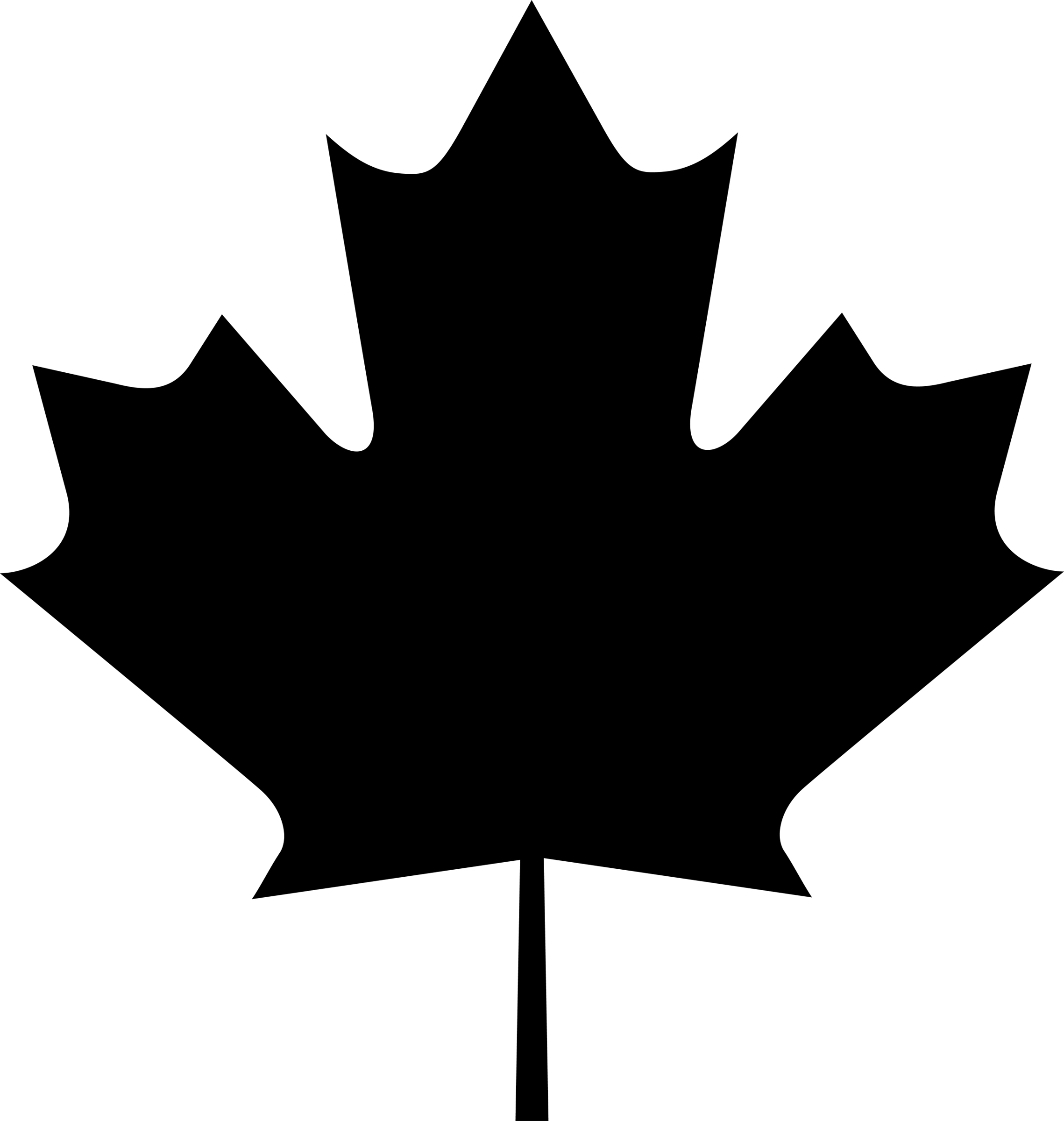 Maple Leaf Vector.