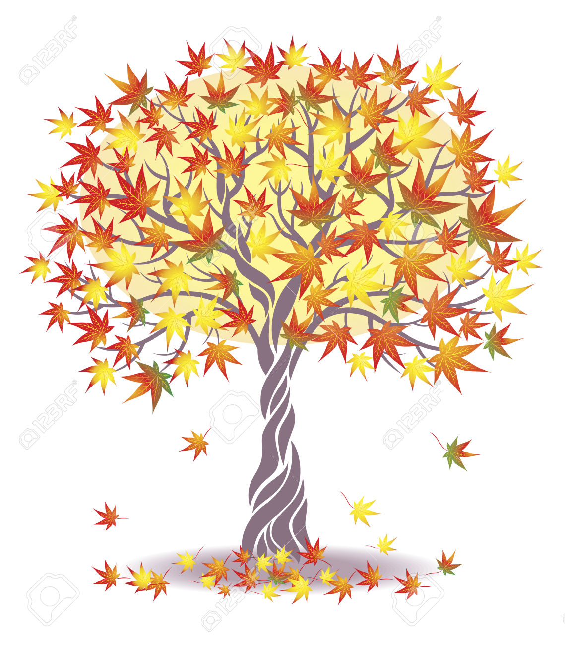 Maple Tree. Royalty Free Cliparts, Vectors, And Stock Illustration.