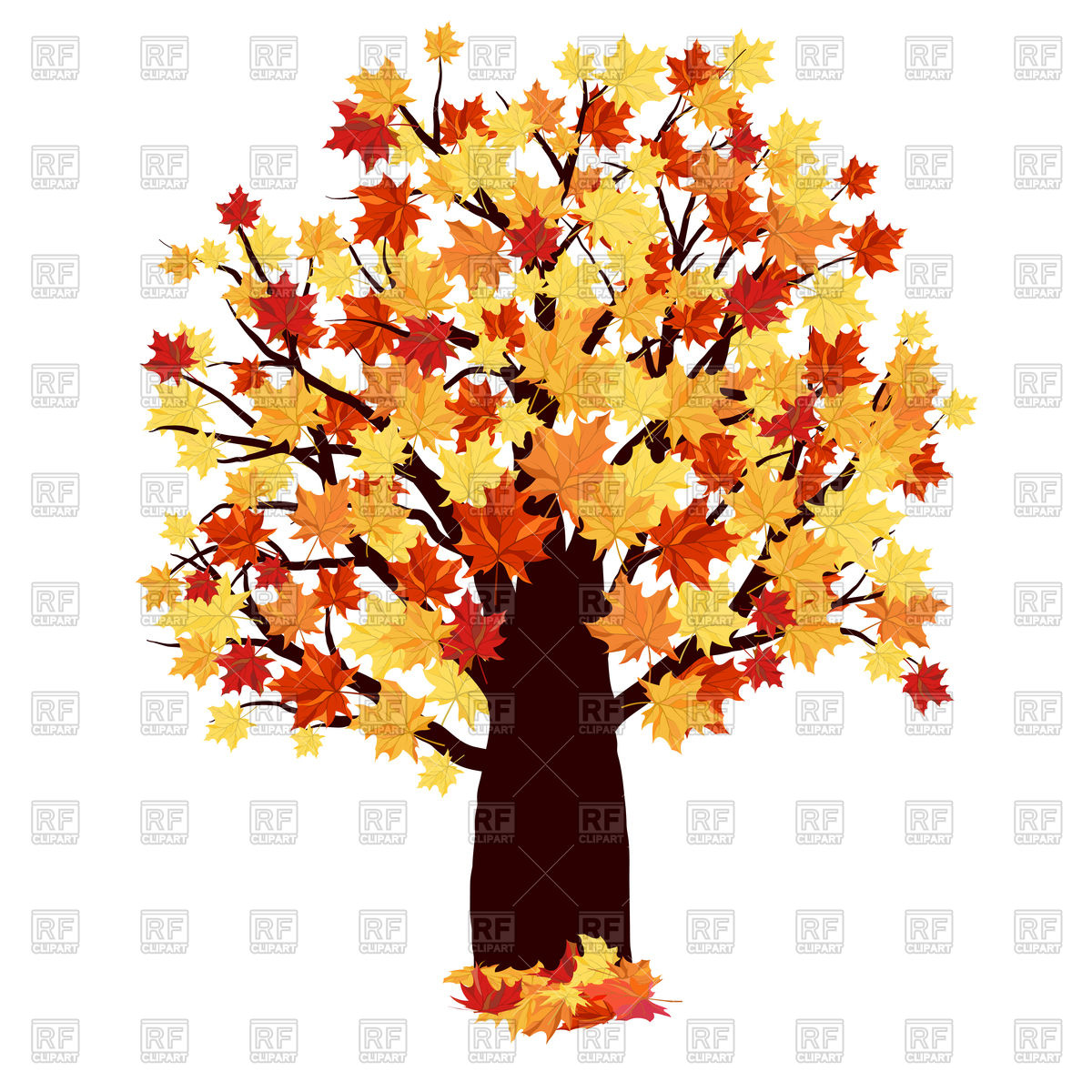 Maple tree Vector Image #110437.