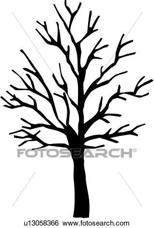 , seasons, sugar maple, tree, varieties, winter, Clip Art.