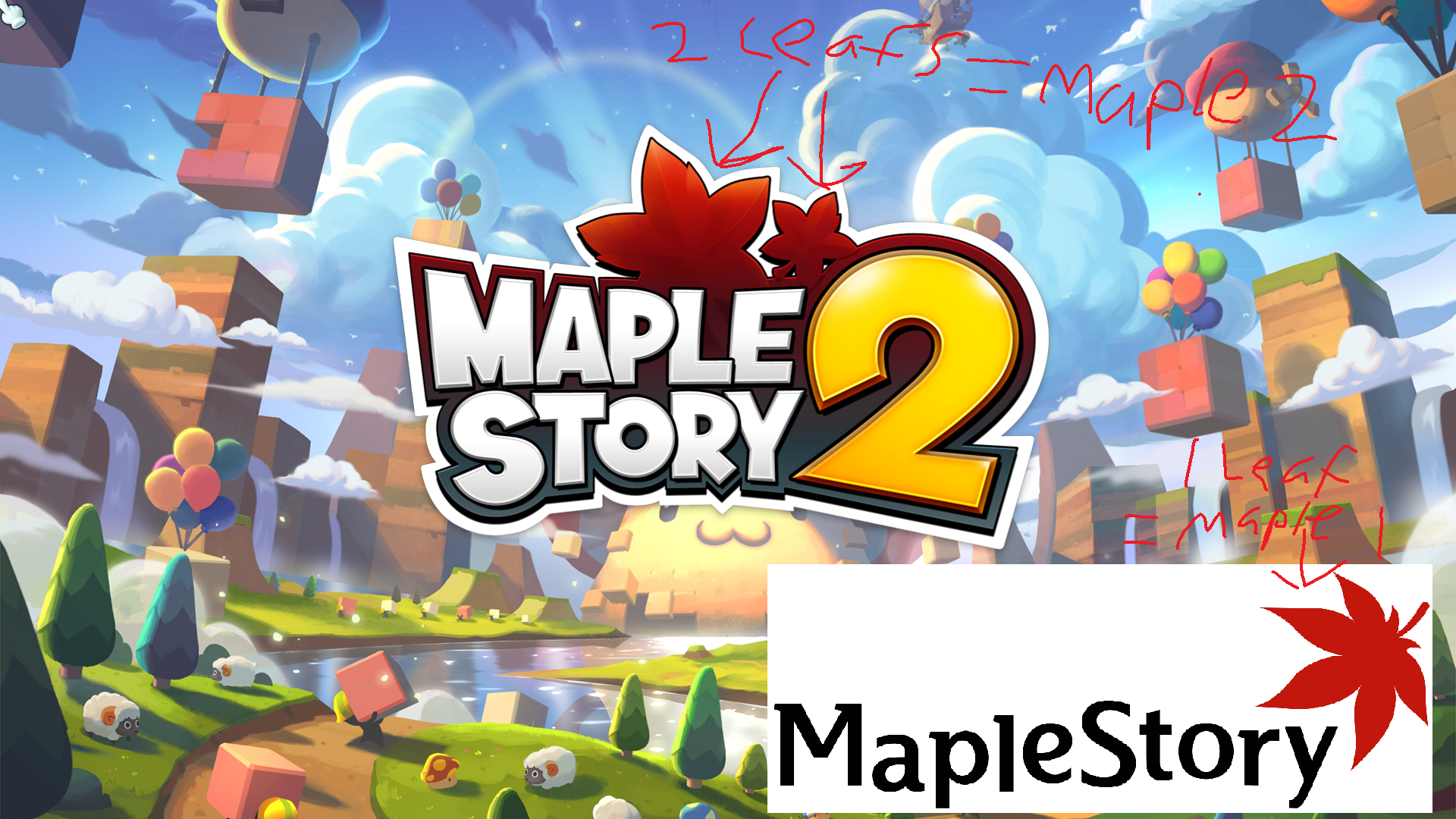 I just noticed that the logo has 2 maple leafs for.