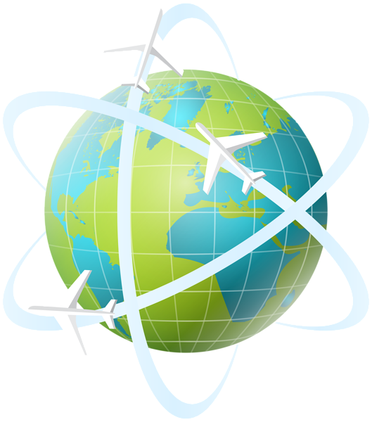 Earth clipart travel, Earth travel Transparent FREE for.