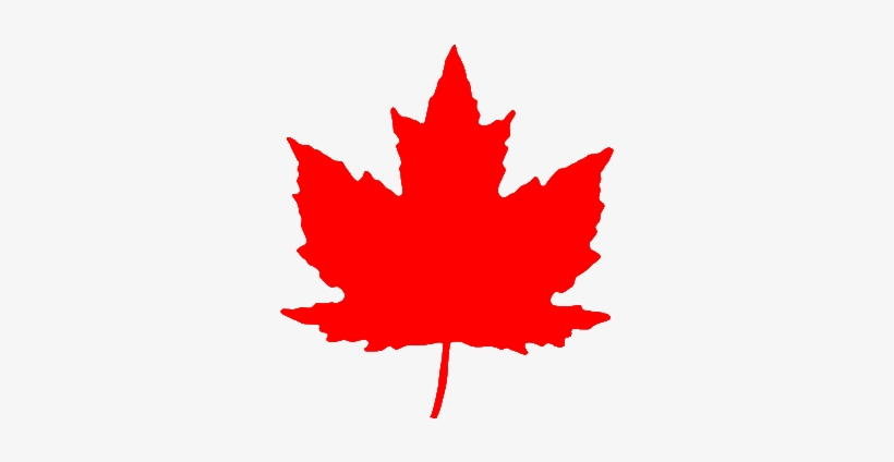 Maple Leaf From Roundel Br Red.