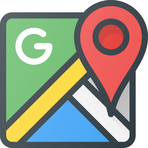 Brand, brands, google, logo, logos, maps icon.