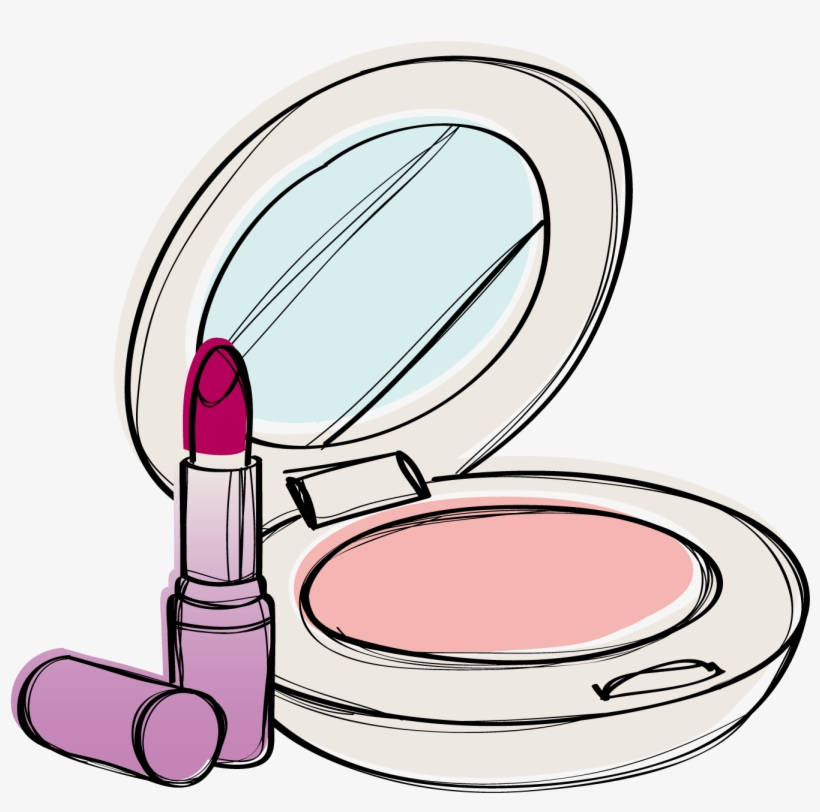 Cosmetic Vector Makeup Foundation.
