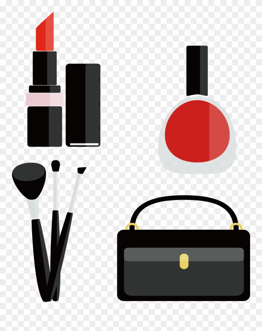 Cosmetic Vector Makeup Accessory.