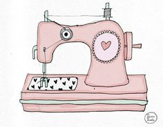 Pink Sewing Machine Clipart Sewing machine clipart rose.