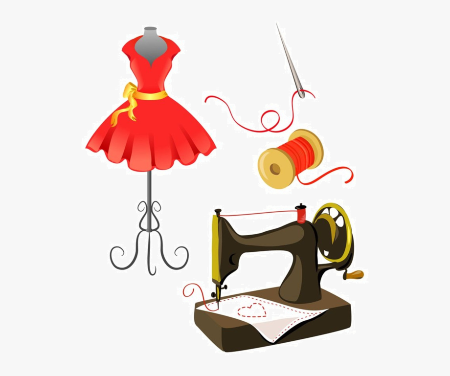 Sewing Machine Clipart Couture.
