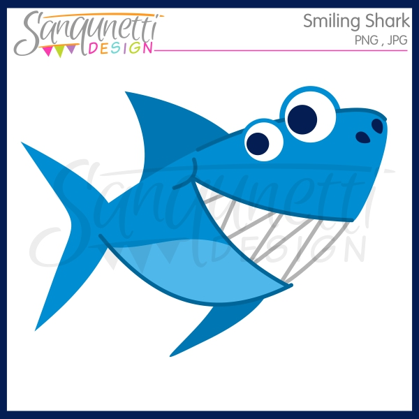 Sanqunetti Design: Smiling Shark.