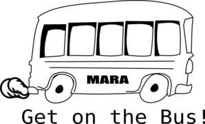 Mara Bus Clip Art at Clker.com.