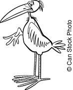 Marabou Vector Clipart EPS Images. 39 Marabou clip art vector.