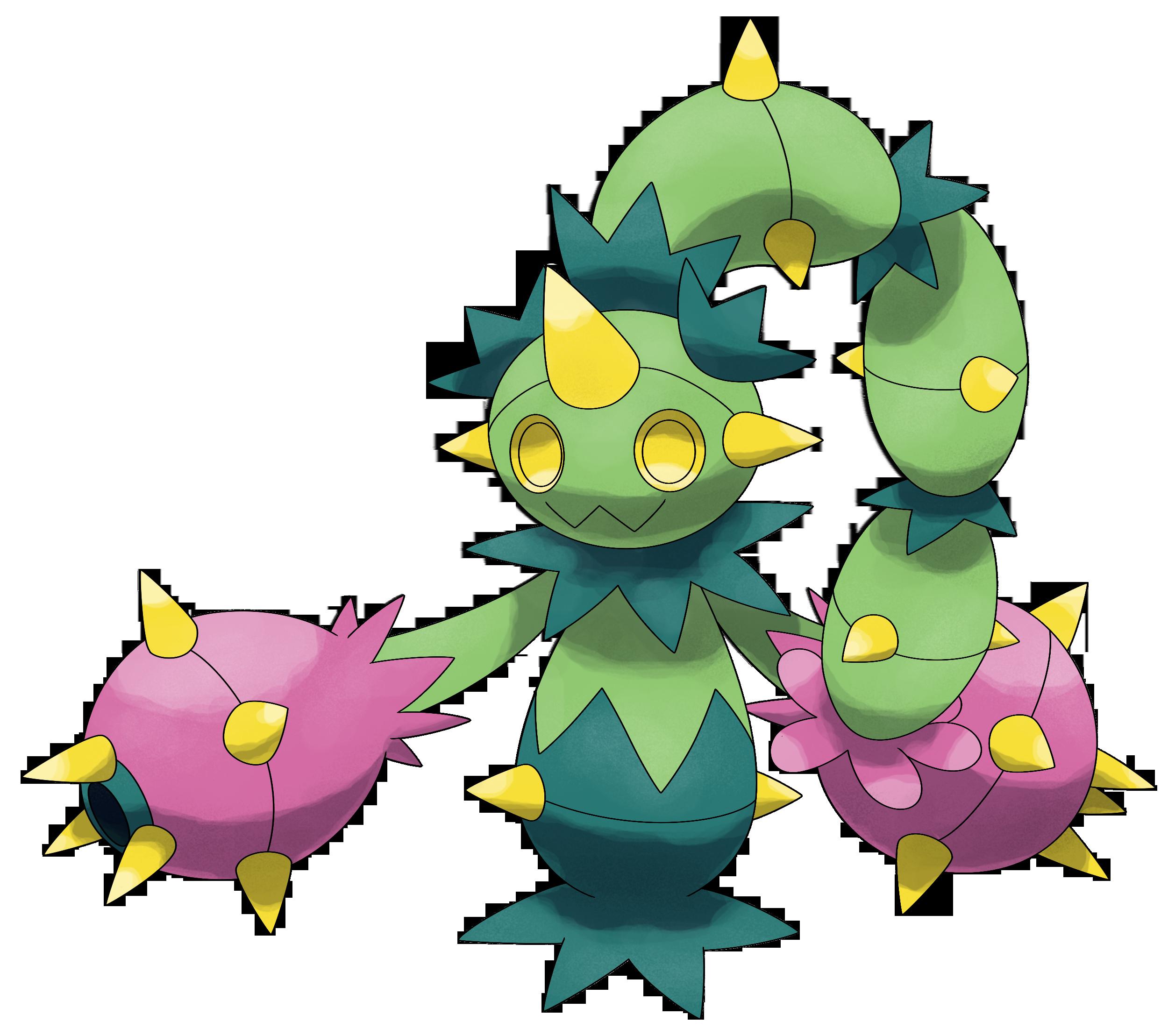 Maractus Pokemon.