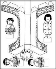 Image result for marae colouring pictures.