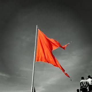 Image result for maratha flag in 2019.
