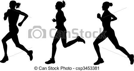 Marathon Clipart.