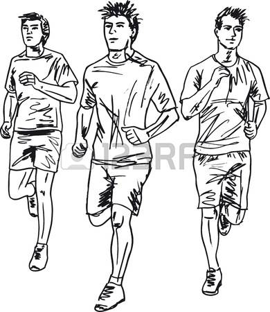 20,999 Marathon Runner Cliparts, Stock Vector And Royalty Free.