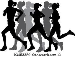 Marathon Clipart and Illustration. 8,001 marathon clip art vector.