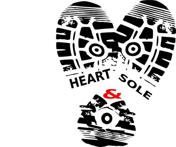 Running Shoe Sole Clip Art.