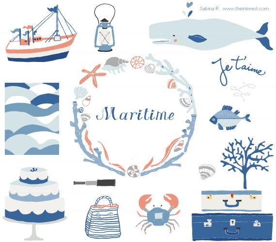 Maritime Clipart.