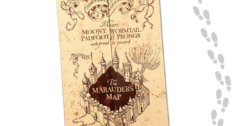 How to make a DIY Marauder\'s Map shirts (with free Printable.