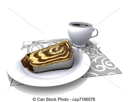 Marble cake cup coffee Stock Illustration Images. 1 Marble cake.