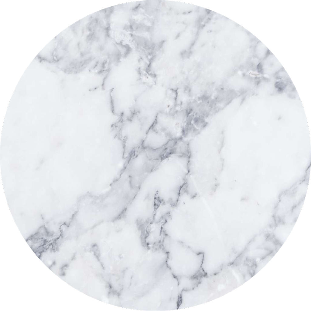 marble white circle background ✨.
