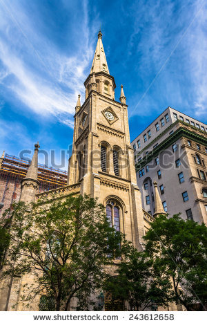 Marble Collegiate Church Stock Photos, Royalty.