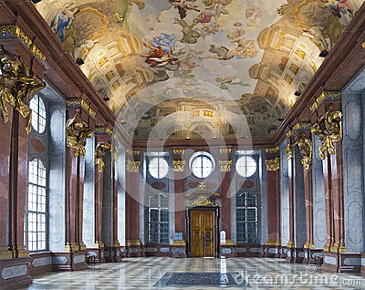 Marble Hall Stock Images.