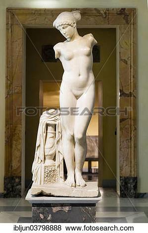"Pictures of ""Ancient marble sculpture, the Esquiline Venus."