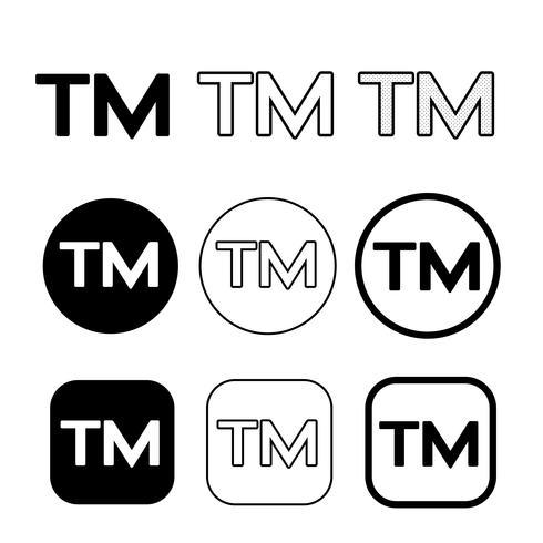 Marca registrada, ícone, símbolo, sinal.